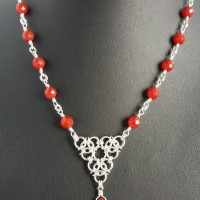 Beaded Aura necklace