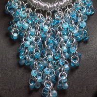 Shaggy Bead Necklace