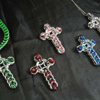 Vari-colour Celtic Crosses