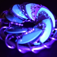 Hellfire Turbine under UV light