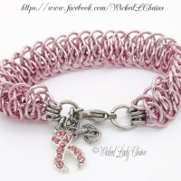 Pink Viperscale - Breast Cancer Awareness