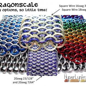 Dragonscale - Hyperlynks Ring Size Guide