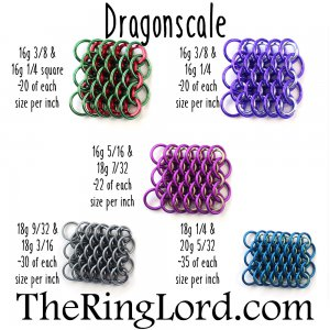 Dragonscale - TRL Ring Size Guide