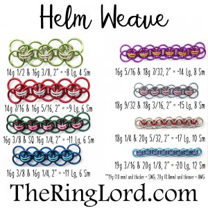 Helm - TRL Ring Size Guide