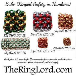 Bubo (Kinged Safety In Numbers) - TRL Ring Size Guide