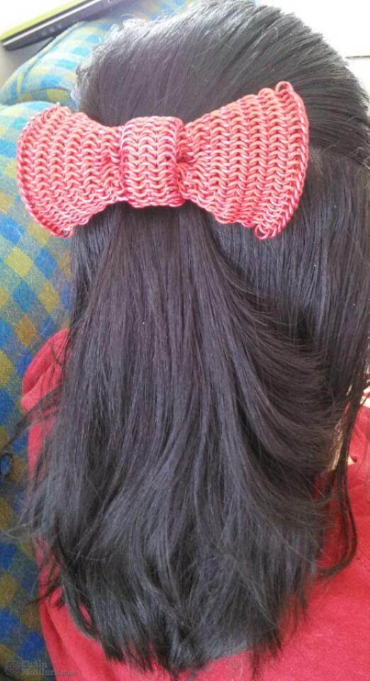 Chainmaile Hair Bow