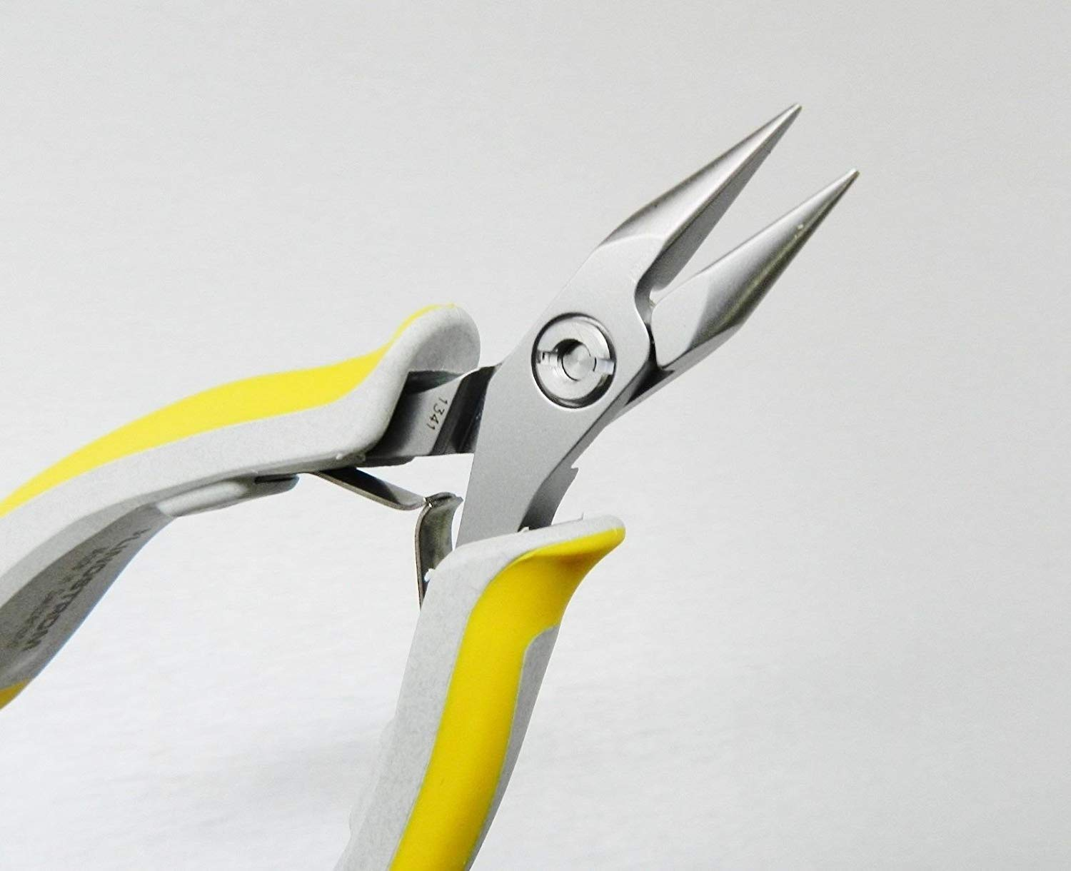 Lindstrom Rx Flat Nose Angled Chisel Nose Stubby Pliers